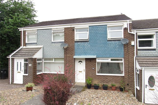 Thumbnail Terraced house to rent in Castle Road, Prudhoe, Northumberland