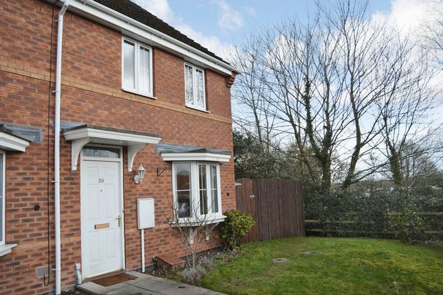 Thumbnail End terrace house for sale in Finchale Avenue, Priorslee, Telford, Shropshire.
