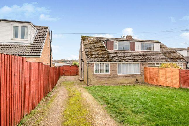 Thumbnail Semi-detached bungalow for sale in Markfield Avenue, Low Moor, Bradford