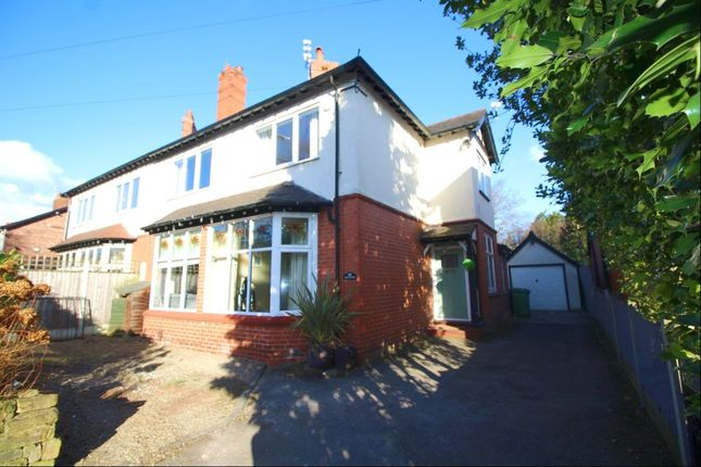 Thumbnail Semi-detached house to rent in Marsland Road, Sale