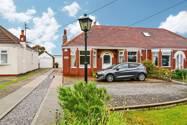 Thumbnail Semi-detached bungalow for sale in Main Road, Wyton, Hull