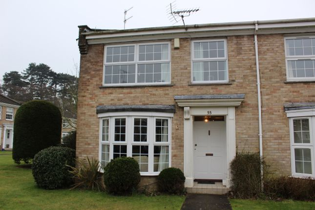 Thumbnail Town house to rent in Copeland Drive, Whitecliff, Poole, Dorset