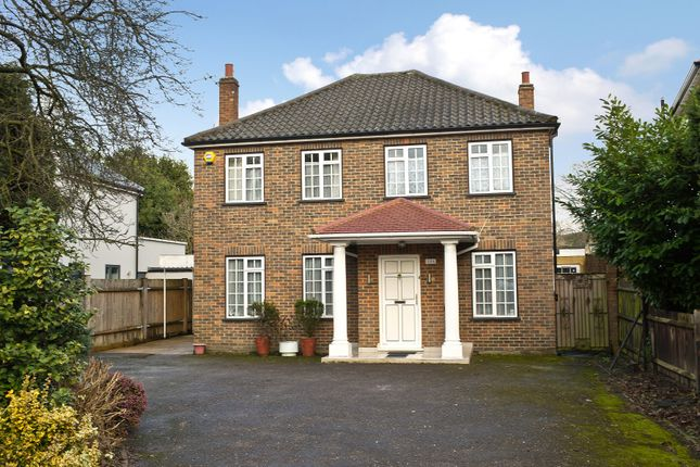 Thumbnail Detached house for sale in Hill Crest, Upper Brighton Road, Surbiton