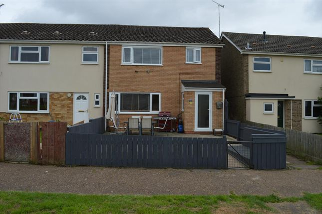 Thumbnail End terrace house for sale in Kings Green, King's Lynn