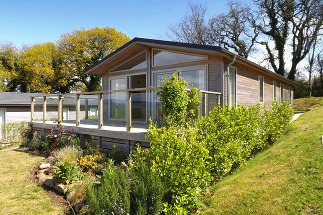 Thumbnail Bungalow for sale in Robin Lodge, Moor View Holiday Lodges, Higher Wood, Modbury, Devon