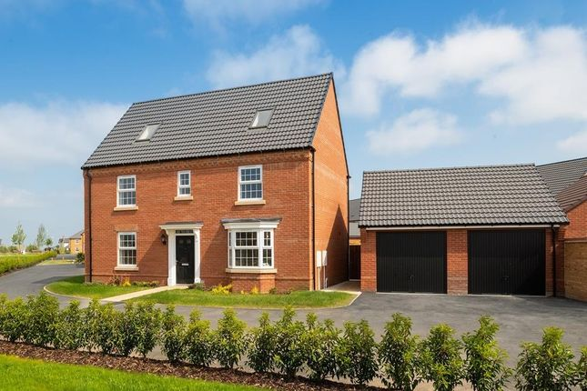 "Thumbnail Detached house for sale in ""Moorecroft"" at Torry Orchard, Marston Moretaine, Bedford"