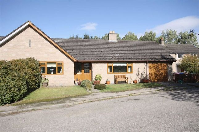 Thumbnail Semi-detached bungalow for sale in Abbeylands Road, Pluscarden, Elgin