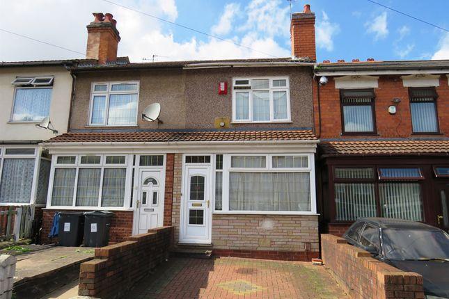 Thumbnail Terraced house for sale in Heather Road, Small Heath, Birmingham