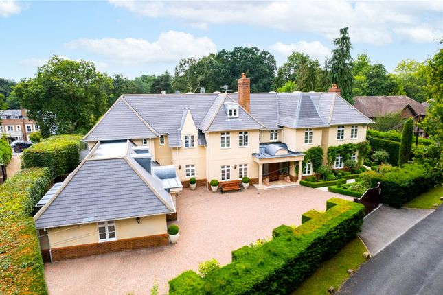Thumbnail Detached house for sale in Oakwood Road, Virginia Water