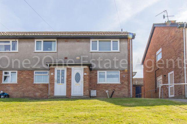 Flat for sale in Blodwen Road, New Inn, Pontypool