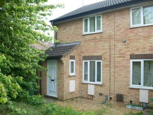 Thumbnail End terrace house to rent in Swale Avenue, Gunthorpe, Peterborough