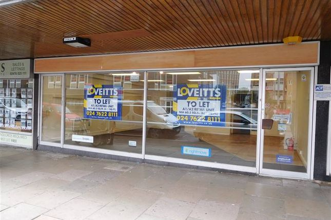 Thumbnail Retail premises to let in 26-28 New Union Street, Coventry, West Midlands