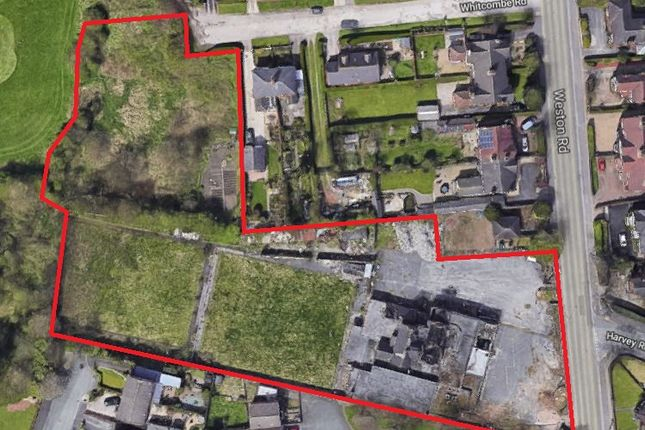 Thumbnail Land for sale in The Beeches, Weston Road, Meir, Stoke-On-Trent, Staffordshire