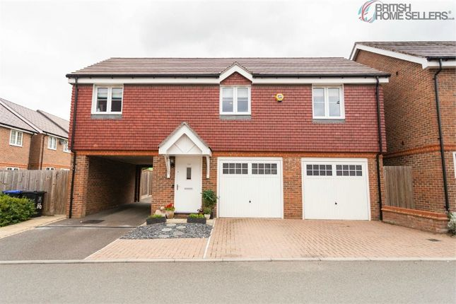 Terraced house for sale in Brookwood Farm Drive, Knaphill, Woking, Surrey