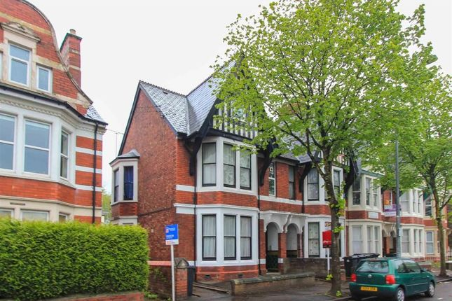 2 bed maisonette to rent in Marlborough Road, Roath, Cardiff CF23