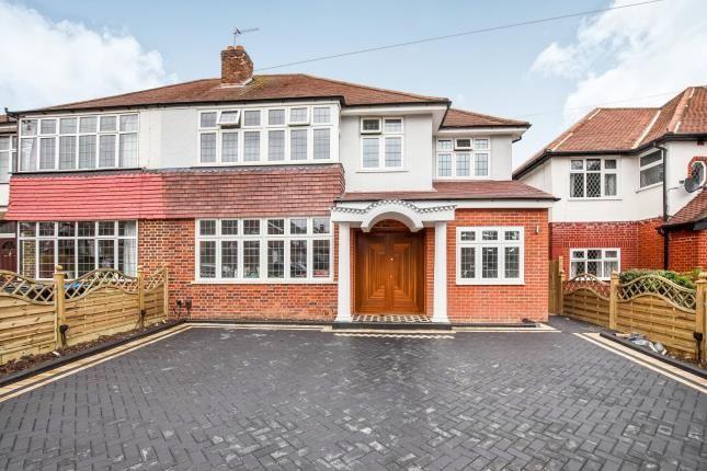 Thumbnail Semi-detached house for sale in Worcester Park, Surrey, .