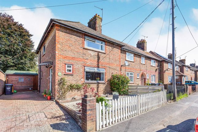 Thumbnail End terrace house for sale in Norman Road, Burgess Hill