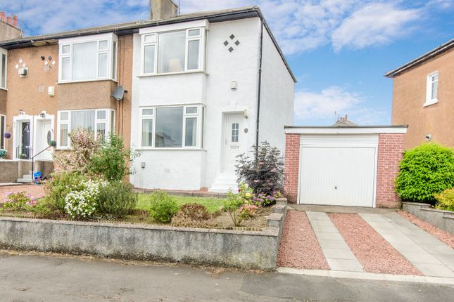Thumbnail End terrace house for sale in The Oval, Clarkston, Glasgow