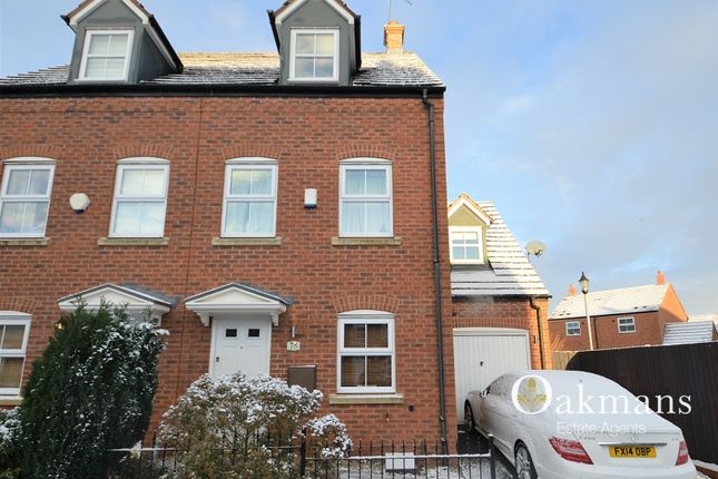 Thumbnail Semi-detached house for sale in St. Francis Drive, Birmingham, West Midlands.