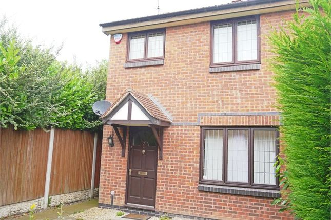 Thumbnail End terrace house to rent in Callaway Close, Wollaton, Nottingham
