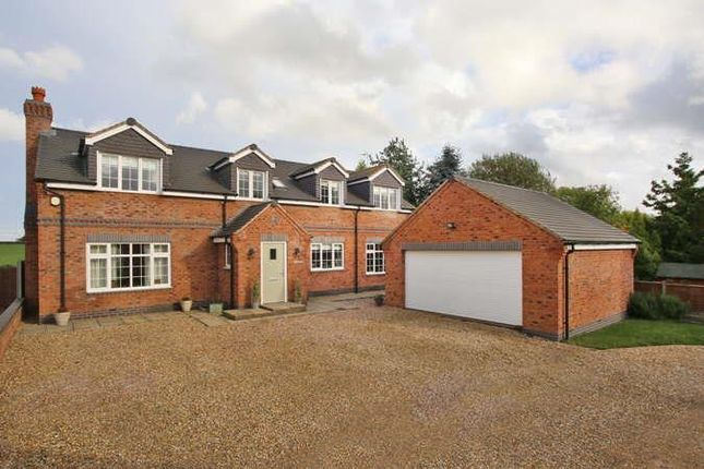 Thumbnail Detached house for sale in Dunton Road, Broughton Astley, Leicester
