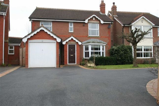 Thumbnail Detached house to rent in Chelveston Crescent, Solihull