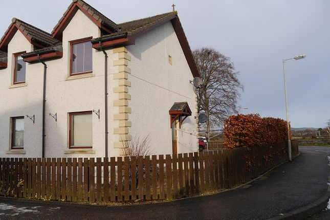 Thumbnail Flat for sale in Castle Close, Invergordon