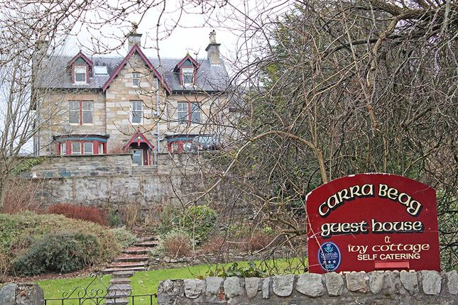 Thumbnail Hotel/guest house for sale in Carra Beag Guest House, Pitlochry