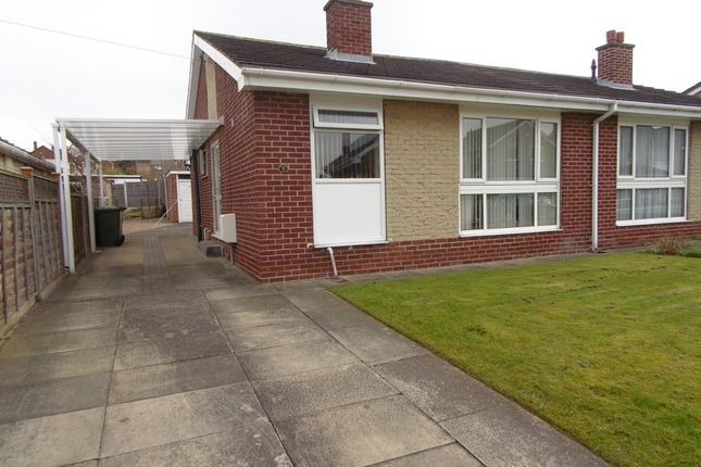 Thumbnail Semi-detached bungalow to rent in Castle View, Sandal, Wakefield
