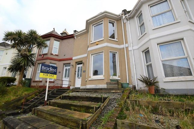 Thumbnail Terraced house for sale in St. Georges Terrace, Plymouth, Devon
