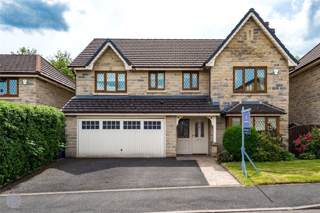 Thumbnail Detached house for sale in Lansdowne Close, Ramsbottom, Bury