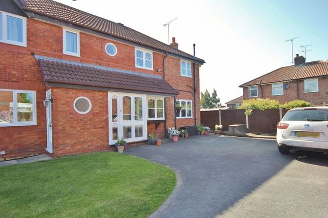 Thumbnail Semi-detached house for sale in Windermere Close, Little Neston, Neston
