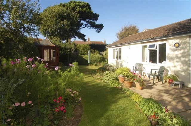 Thumbnail Detached bungalow for sale in Locksash Close, West Wittering, Chichester