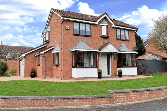 Thumbnail Detached house for sale in Suffolk Drive, Worcester