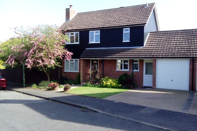 Thumbnail Detached house for sale in Long Pastures, Glemsford, Sudbury