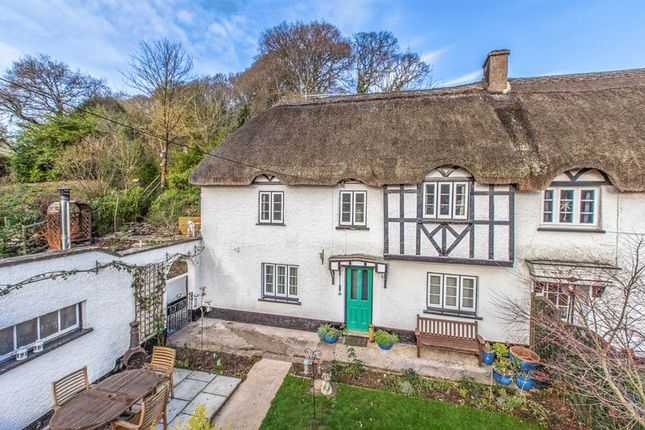 Thumbnail Cottage for sale in Three Horse Shoes, Cowley, Exeter