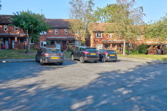 Car Park of Fredas Grove, Harborne, Birmingham B17