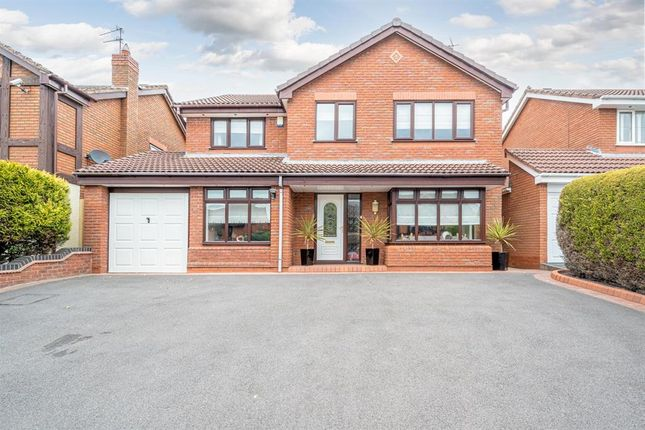 Thumbnail Detached house for sale in Clover Lane, Kingswinford