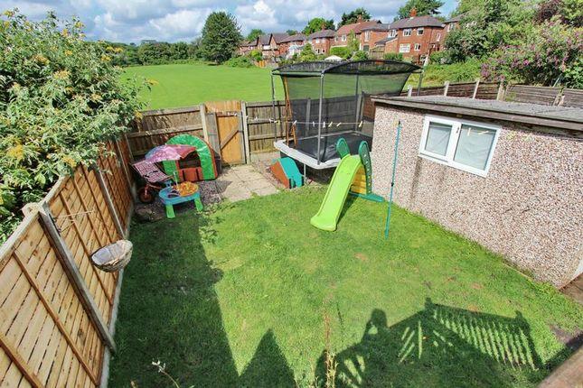 Rear Garden of Heywood Road, Prestwich, Manchester M25