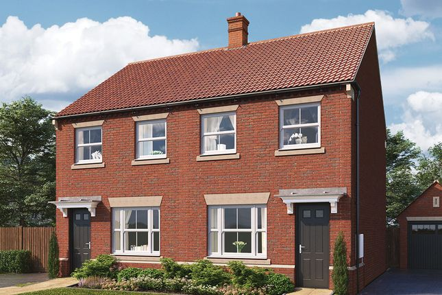 "Thumbnail Semi-detached house for sale in ""Cliveden"" at Harrogate Road, Green Hammerton, York"