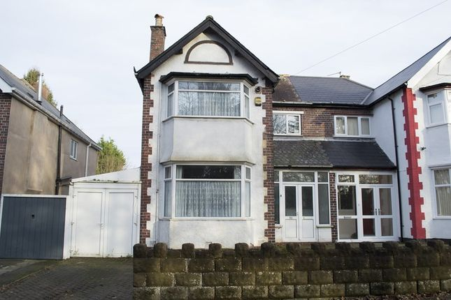 4 bed semi-detached house for sale in West Park Road, Bearwood, Smethwick