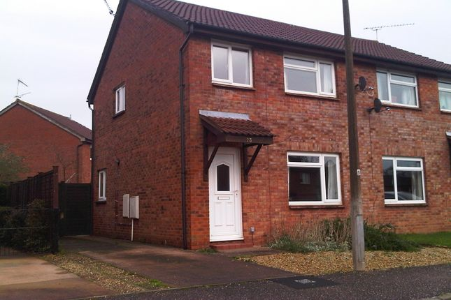 Thumbnail Semi-detached house to rent in Scott Close, Taunton