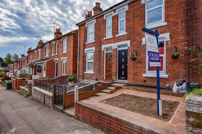Thumbnail Terraced house for sale in Old Heath Road, Colchester, Essex