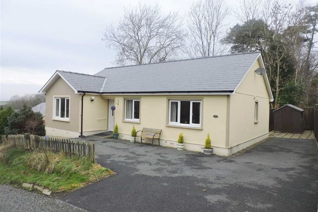 Thumbnail Detached bungalow for sale in Martletwy, Narberth, Pembrokeshire