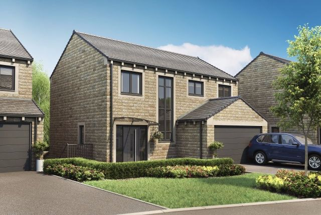 Thumbnail Detached house for sale in Pennine Close, Upperthong, Holmfirth
