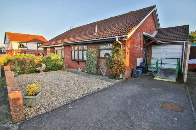 Thumbnail Semi-detached bungalow for sale in Deepweir Gardens, Caldicot