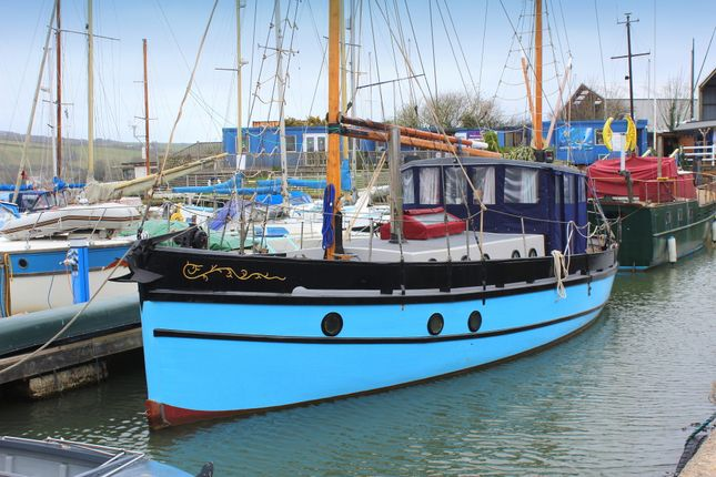 Thumbnail 1 bed houseboat for sale in Southdown Quay, Millbrook, Torpoint
