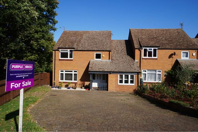 Thumbnail Detached house for sale in Peddlars Grove, Yateley
