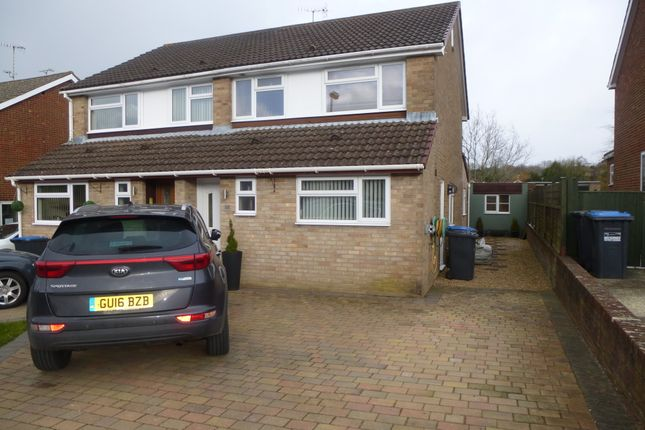 Thumbnail Semi-detached house to rent in Charlwoods Road, East Grinstead, West Sussex