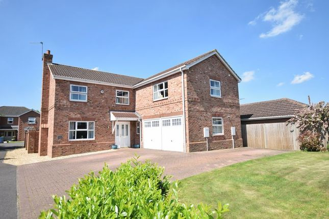 Thumbnail Detached house for sale in The Rowans, Saxilby, Lincoln